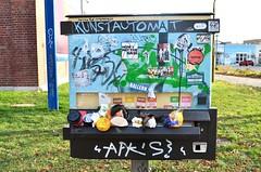 Kunstautomat (!Claro) Tags: kunstautomat leipzig plagwitz art sachsen osten east germany