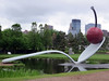 Spoonbridge and Cherry (vapspwi) Tags: minneapolis minnesota sculpturegarden spoonbridge cherry sculpture