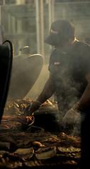 Smokey Twilight (Donna-Lee Speedie) Tags: bbq nightmarket perth ribs smoker