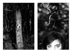 (Antonio Gutiérrez Pereira) Tags: antoniogutierrezfotografia dinamocoworking retrato mirada mujer naturaleza diptico blancoynegro blackandwhite composicion concepto conceptual