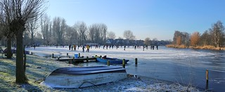 Thin ice won't stop the Dutch