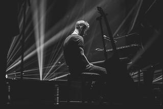 Justinas Jarutis performing at Šv. Kotrynos bažnyčia. 2017. Vilnius.