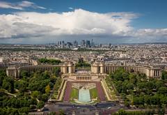 Trocadero gardens... [Paris, France - 2015] (Jose Constantino Gallery) Tags: paris trocadero eifel tour tower france city