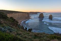 Falling in love (Maruša Žerjal) Tags: australia 12apostles nature sunrise outdoors thegreatoceanroad avstralija pillars shore ocean sightseeing