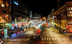 Street of Stockholm (Keinsei2) Tags: christmas noël lumière light stockholm suede sverige fujifilm xa1 xmas rue street crossfire feux tricolore