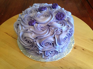 Violet Smash Cake