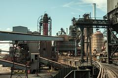 Blast Furnace High Line (Kingmoor Klickr) Tags: highline corus scunthorpe steelworks industry industrialrailway