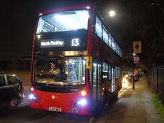 Behold ... THE FUTURE! (ultradude973) Tags: tower transit volvo b5lh mcv evoseti mv38203 lj 17 lj17 wrd lj17wrd 13 82 north finchley victoria blind change brand new 17reg double decker bus