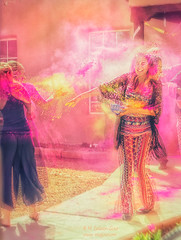 Holi, Festival of the Colors (inlightful) Tags: humans people fun celebration holi colors festival festivalofcolors love joy colour powder party event newmexico socorro socorropubliclibrary socorrocounty southwest