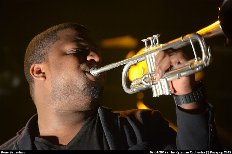 The Kyteman Orchestra @ Paaspop 2012