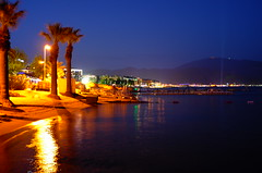 Marmaris night (VladPL) Tags: leica night lights shore nightlight lightning marmaris nightcity x2 citylightning nightcities leicax2