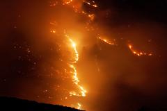 Fire Line at Night (benagain_photos) Tags: washington butte wa fires chelan wildfires reachfire chelancomplex