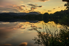 Loch Venachar Sunset (colderby) Tags: scotland glasgow reservoir loch trossachs lomand