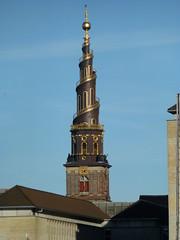 Church of Our Saviour (skumroffe) Tags: tower church copenhagen denmark churchtower torn danmark kyrka christiania kirke köpenhamn vorfrelserskirke churchofoursaviour kyrktorn christianiakirken
