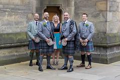 Grooms folk (seventyone photographers) Tags: blue wedding photography scotland kilt glasgow colourful grooms tartan sporran