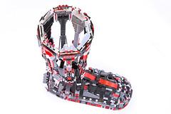 Suit UP - LEG (Milan Sekiz) Tags: red black lego leg gray ironman suit