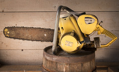 McCulloch Mac 15 (ZeiR) Tags: finland chainsaw tool powertool mcculloch land kkar sigma18200mmf3563dcos mccullochmotors canon70d kkarmuseum