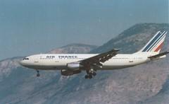 Air France Airbus A300 F-BVCF (LGAT 1981) (Christos Psarras) Tags: france airplane aircraft air athens airbus airliner ath a300 lgat hellenikon a300atlgat fbvcf