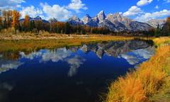 Grand Teton National Park (udbluehens (1,000,000)) Tags: grandteton grandtetonnationalpark schwabacherslanding grandtetonfallcolors