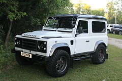 Land Rover Defender 90 (SPV Automotive) Tags: white truck rover land suv 90 defender