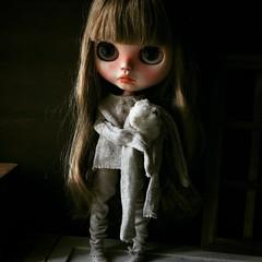 Good night❤️ #Blythe #blythedoll #blytheoutfit#doll #dolloutfit #dollfashion #kawaii #handmade #morigirl #dakawaiidolls (Dakawaiidolls) Tags: square squareformat ludwig iphoneography instagramapp uploaded:by=instagram