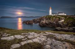 Moonrise over Fanad Head 500px (jimgraham800) Tags: ireland moon lighthouse head moonrise donegal fanad supermoon