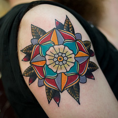 2015 (josh leahy) Tags: flower rose tattoo ink photography nikon traditional tribal brisbane tudor tradition logan oldskool bold goldcoast newskool tattooer joshleahy mynikonlife lanternandsparrow