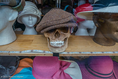 Suits you sir (Theunis Viljoen LRPS) Tags: london skull hats pimlico