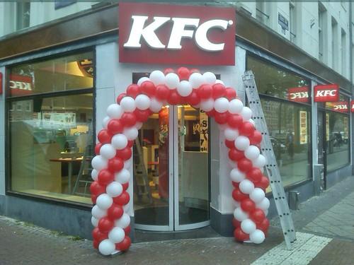 Ballonboog 6m KFC Amsterdam