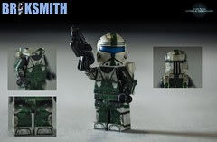 "RC-1140 ""Fixer"" (BrikSmith Customs) Tags: boss star republic lego delta clones sev wars squad commando scorch fixer rc1140"