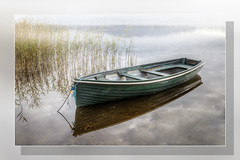 Boat Reflection Loch Ard
