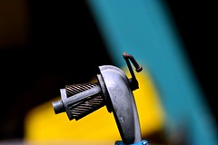 winder grinder (donjuanmon) Tags: blue black yellow pencil vintage gears sharpener crank grinders inners donjuanmon