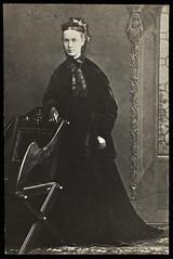 Photograph of Millicent Garrett Fawcett, 1890.