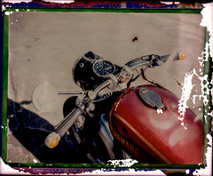 2015-10-03_BMW2-3 (Gerd Rieger) Tags: bike polaroid fuji 350 bmw motorcycle yamaha fp100