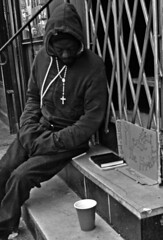 The Apostle (tacosnachosburritos) Tags: street new york city people urban woman man guy girl lady race photography thestreets rat gritty chick human