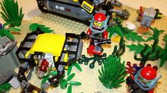 Under the Sea (FrenchFigaro) Tags: city lego submarine minifigs minifigures