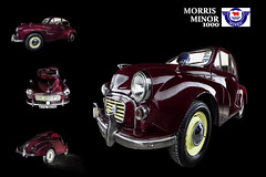 1969 Morris Minor 1000 (Leigh Cousins RAW) Tags: lightpainting 1969 car automobile vehicle morrisminor 1000