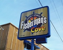 Signarama Fond du Lac, WI | Pylon Sign | Fishermans Cove