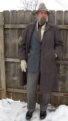 12-23-2016 Today's Clothes (Michael A2012) Tags: kevin mcandrew tweed hat wool prides landing cable knit cableknit hand woven handwoven harris scotland addison muench lochwin mohair geoffrey beane donegal dockers cap toe captoe blucher derby