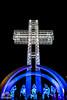 Cruz_del_Sur_Formosa (darioglz26) Tags: pesebre cruz arquitectura noche luces plaza