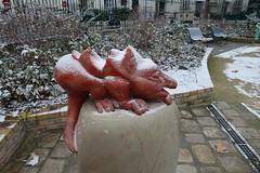 Square de l'Abbé Georges Hénocque @ Paris (*_*) Tags: paris france europe city december 2016 winter cold saturday newyearseve squaredelabbégeorgeshénocque 75013paris paris13 park