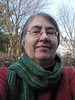 Green scarf for Sheila (lady-ursula) Tags: scarf handwoven weaving rigidheddle plainweave saori green