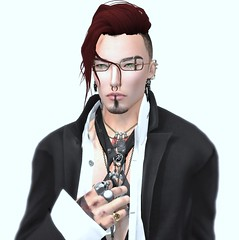Selfportrait (misterecontraption) Tags: secondlife selfportrait kingnero