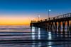 Largs Pier Sunset [EXPLORED] (Norma Martiri) Tags: largsbay largspier adelaide southaustralia australia jetty pier sunset waterscape