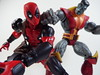 Deadpool and Colossus (Matheus RFM) Tags: deadpool revoltech marvel colossus