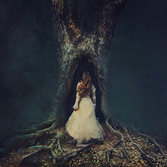 discoveries (brookeshaden) Tags: fineartphotography conceptual art dark surreal whimsical intothedarkness selfportrait