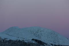 Afterglow.jpg (EKr2013) Tags: norway nature landscape norwegian norwegiannature winter snow sunset afterglow mountain canon eos1dsmkiii softlight wilderness winterevening scandinavia hill mountainside mountainpeak peak