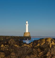 Aberdeen Breakwater (burnsmeisterj) Tags: olympus omd em1 aberdeen breakwater scotland sea rocks