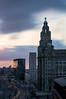 iconic liverpool sunrise (swolstenholme1977) Tags: boxingday2016 iconic liverpool liverbuilding light trails lighttrails