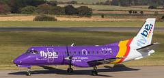 G-LGNI SAAB 340, Edinburgh (wwshack) Tags: edi egph edinburgh edinburghairport flybe loganair saab340 scotland turnhouse